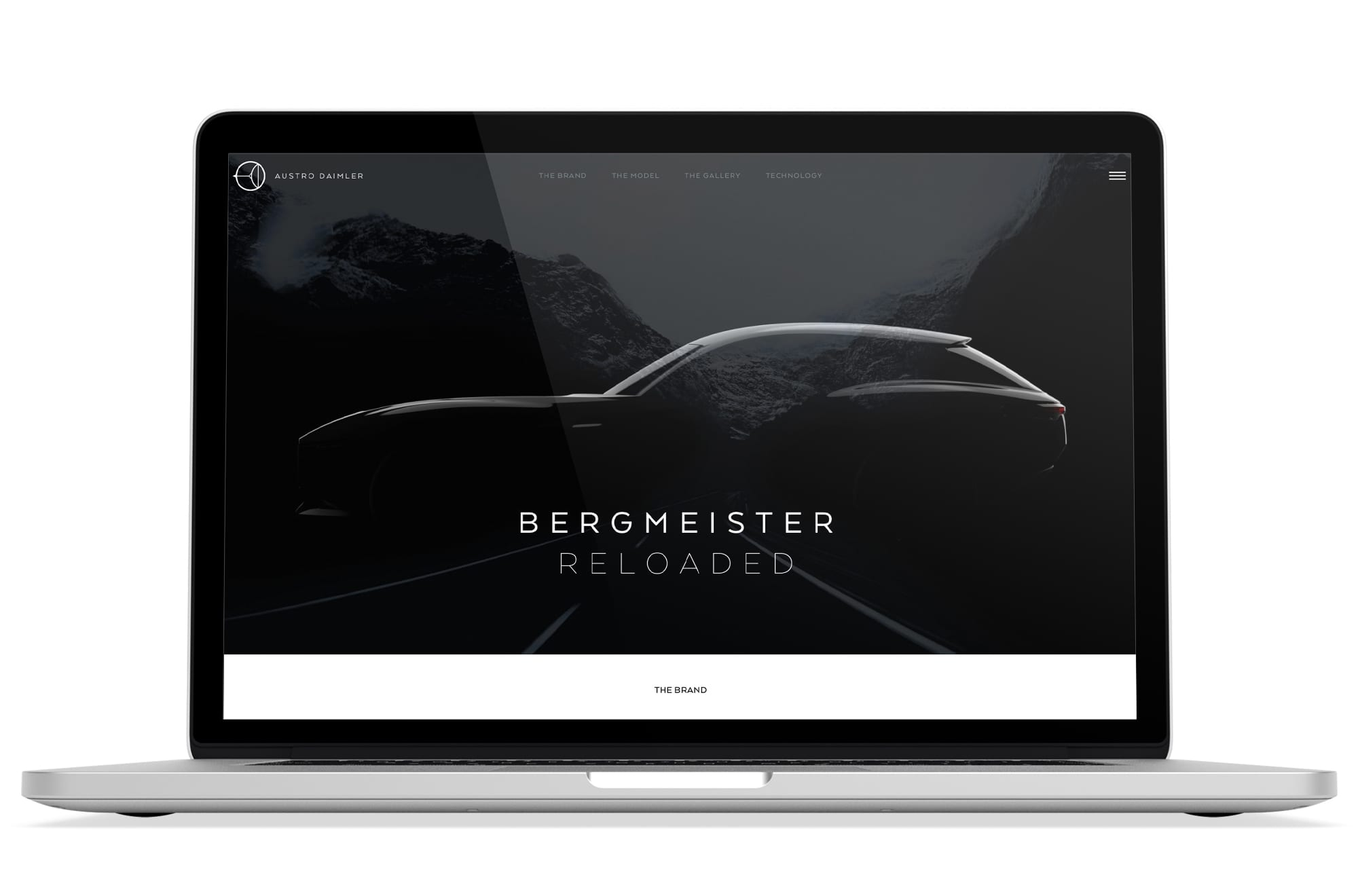 Webdesign Beispiel: Logodesign, Responsive Webdesign, WordPress für Automotive & Technologie