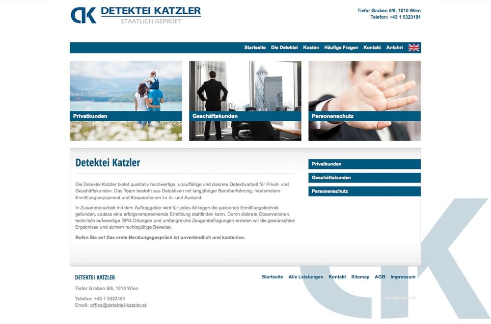 Beispiel: Logodesign, Webdesign, Suchmaschinenoptimierung
