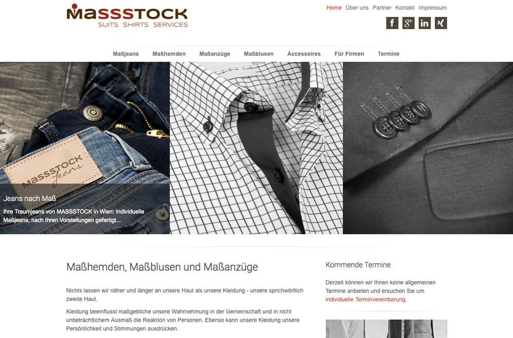Webdesign Beispiel: Logodesign, Corporate Design, Responsive Webdesign, WordPress für Handel / Verkauf