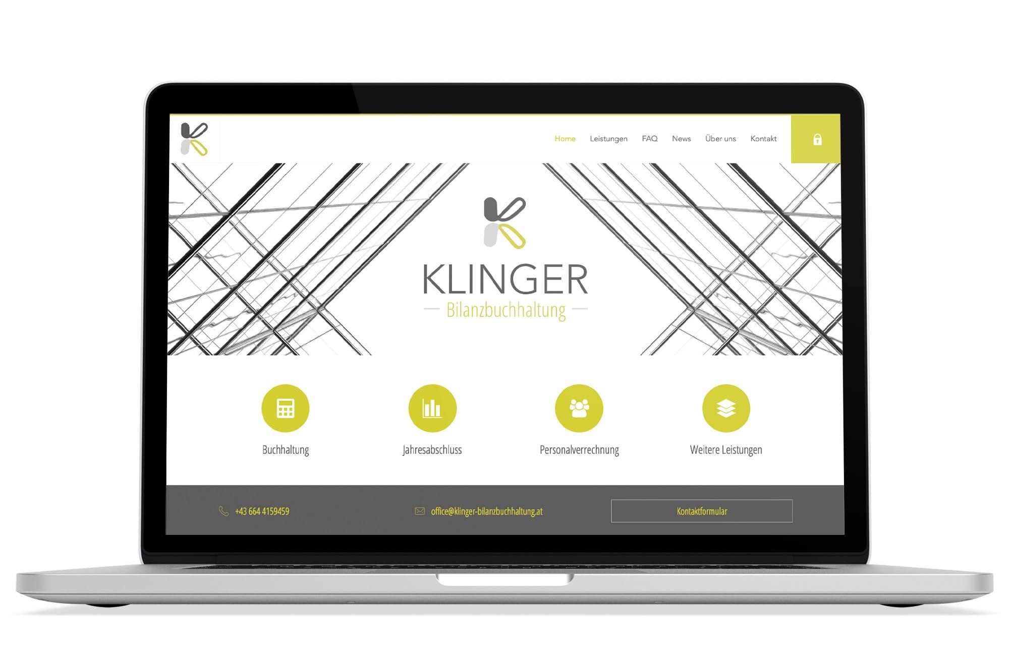 Responsive Webdesign Beispiel: Neue mobile Webseite für Bilanzbuchhalterin Gänserndorf, Wolkersdorf