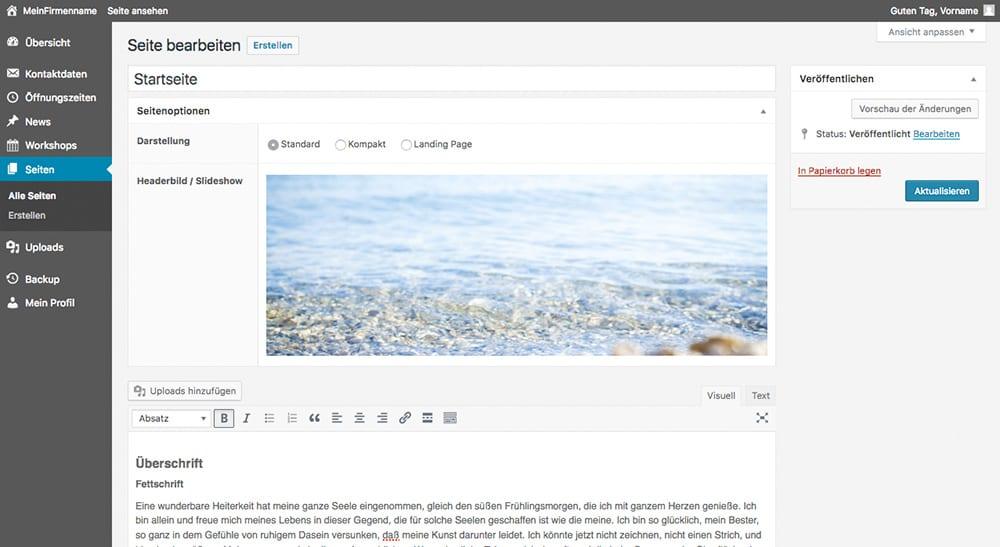 Content Management System: 3