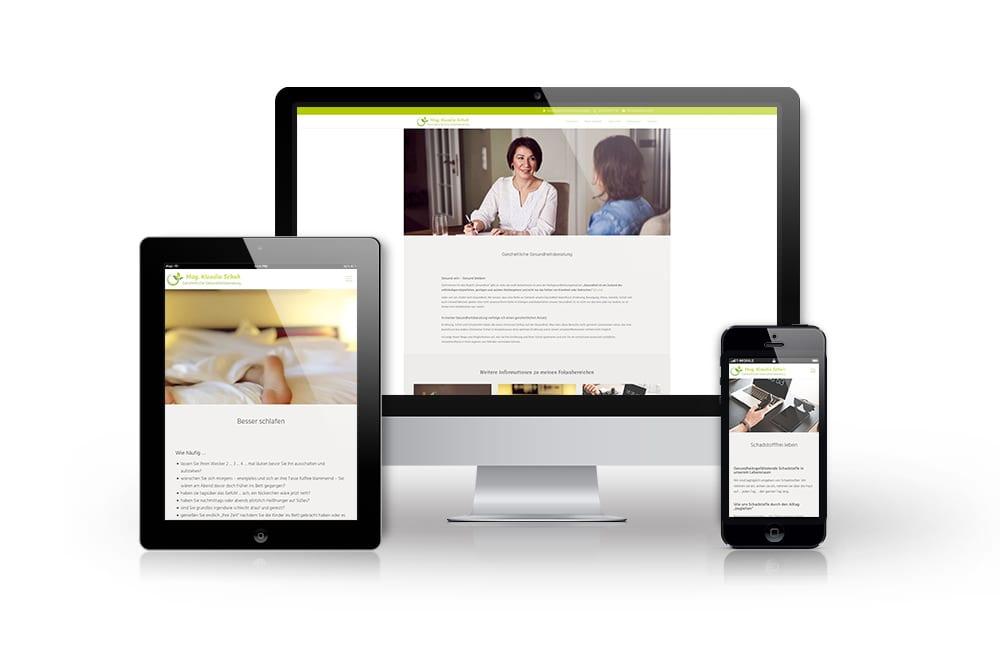 Webdesign Wien: Website erstellen lassen 2