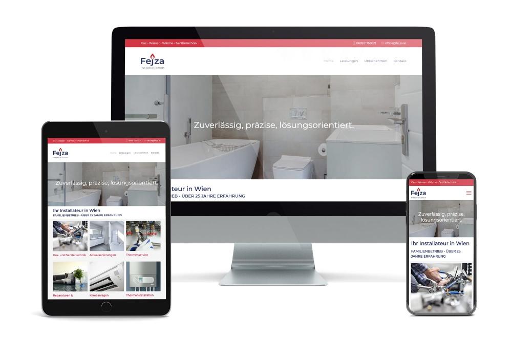 handwerker installateur homepage wien