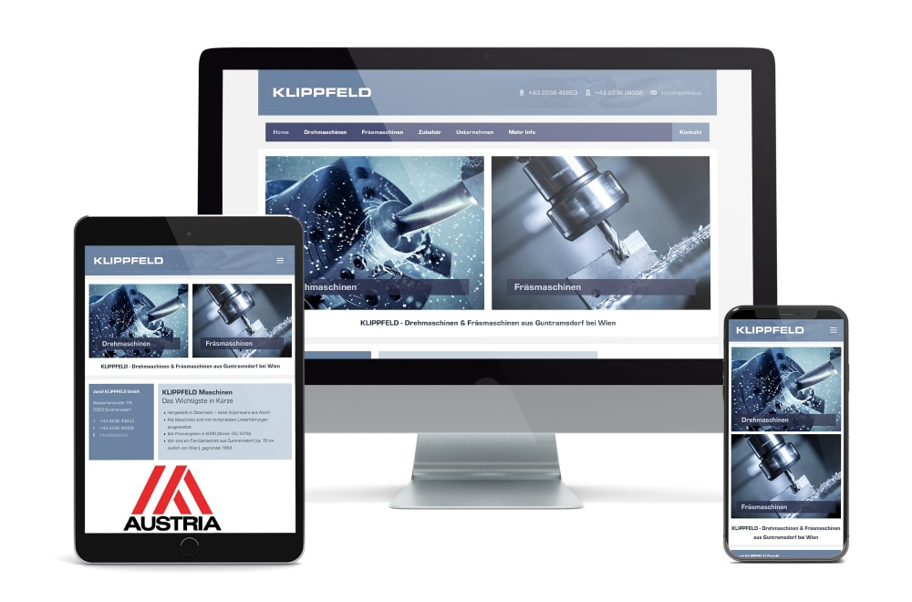 handwerker homepage wien agentur