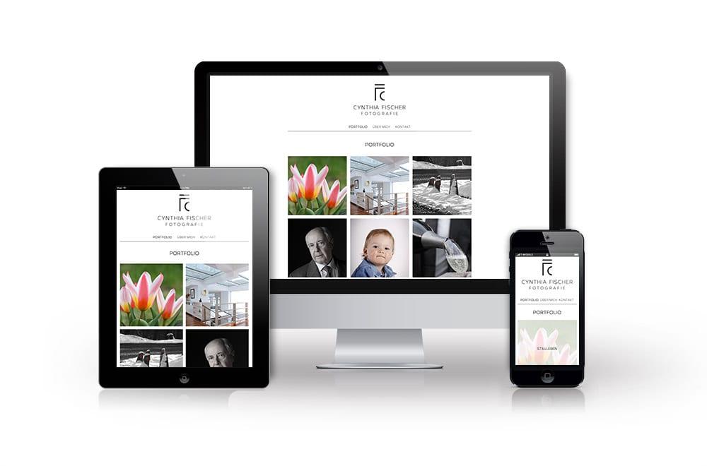 Beispiel: Logodesign, Mobiles Webdesign, Content Management System