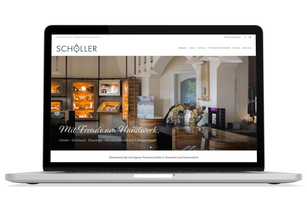 Beispiel: Logodesign, Corporate Design, Responsive Webdesign