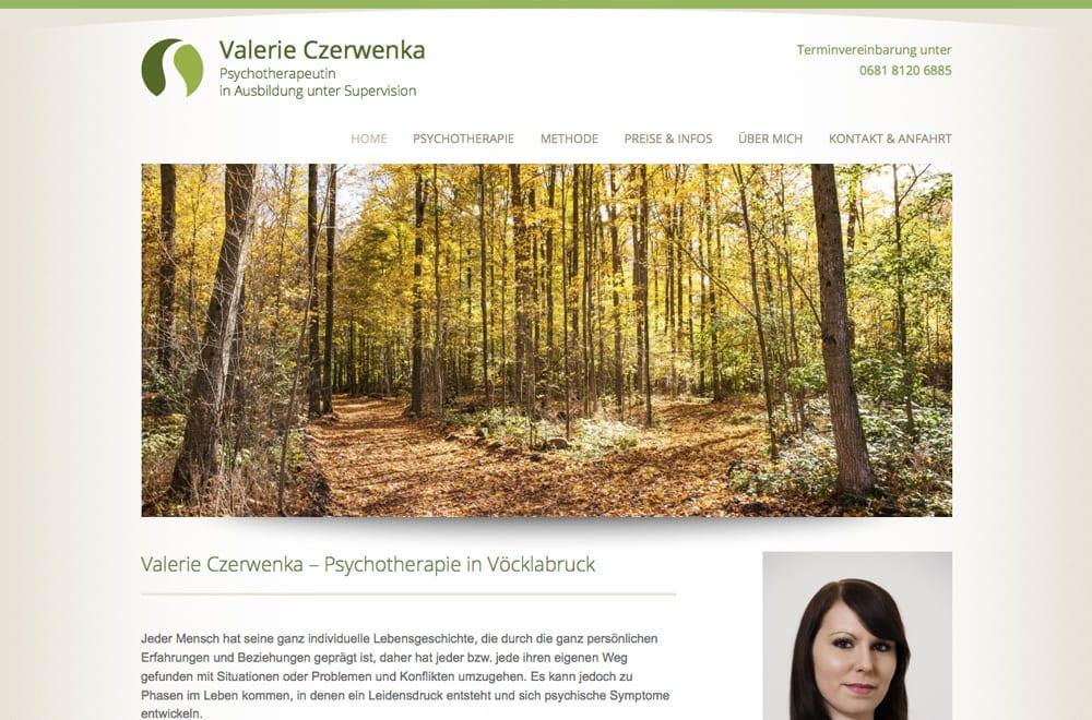 Webdesign Beispiel: Logodesign, Corporate Design, Responsive Webdesign für Psychotherapie