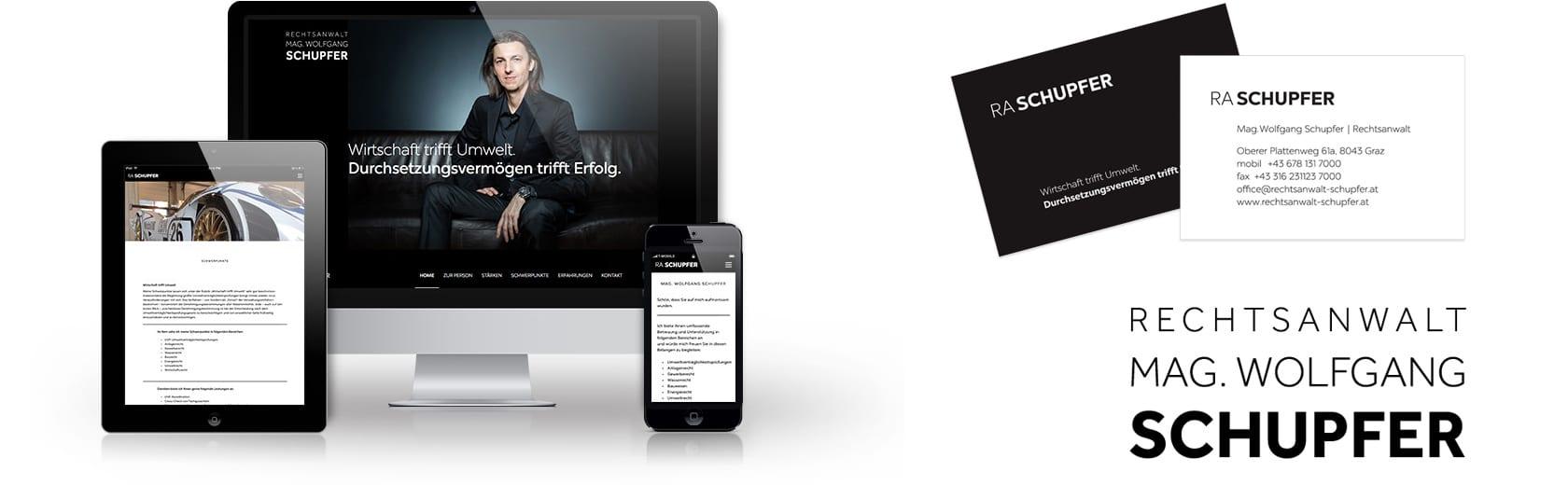Webdesign für Anwalt Wien