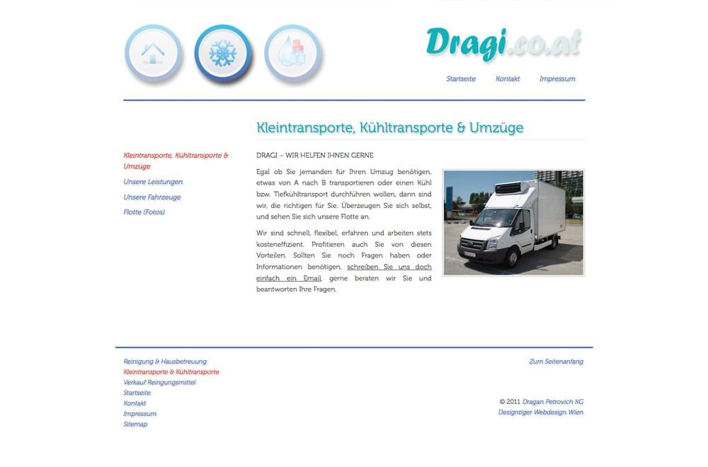 Webdesign Beispiel: Webdesign für Reinigung / Hausbetreuung