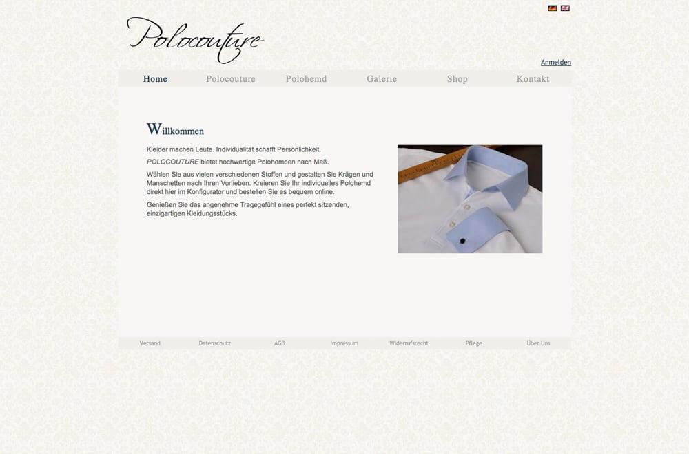 Webdesign Beispiel: Webdesign, Onlineshop für Handel / Bekleidung