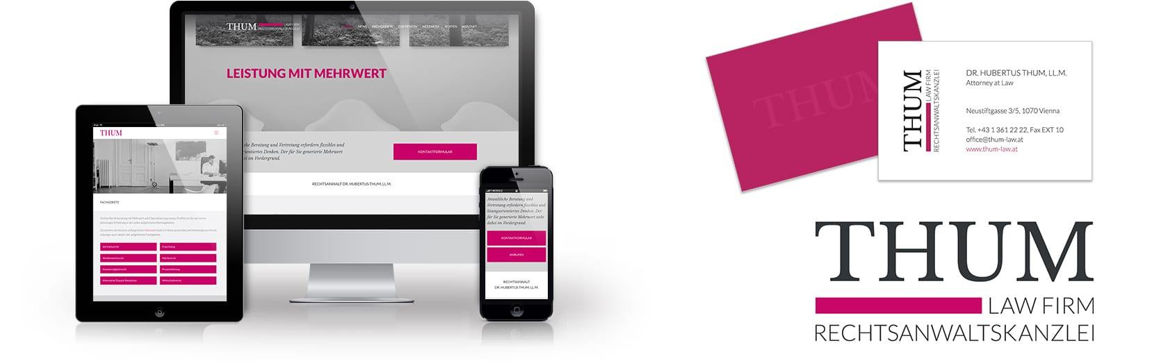 Homepage für Rechtsanwalt erstellen lassen Wien