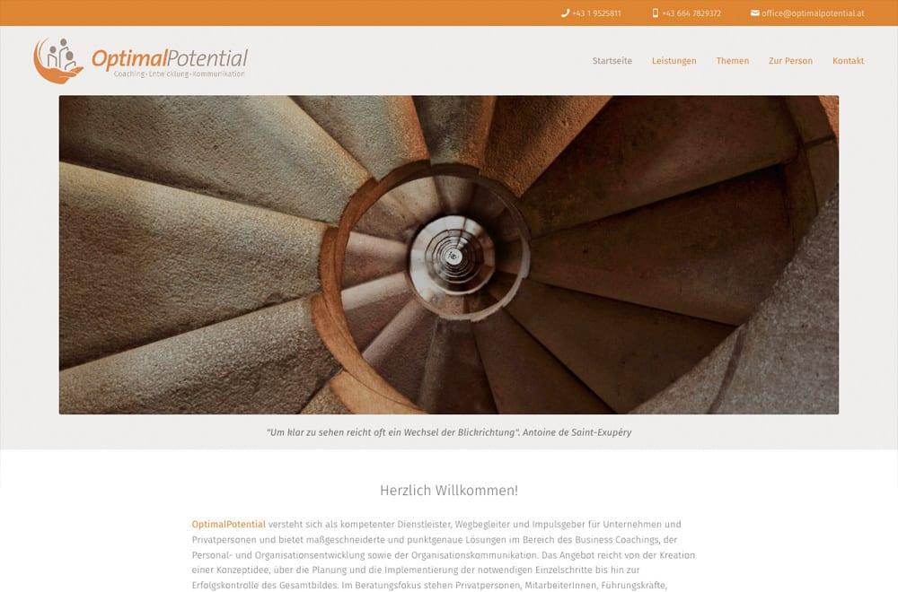 Beispiel: Responsive Webdesign, WordPress