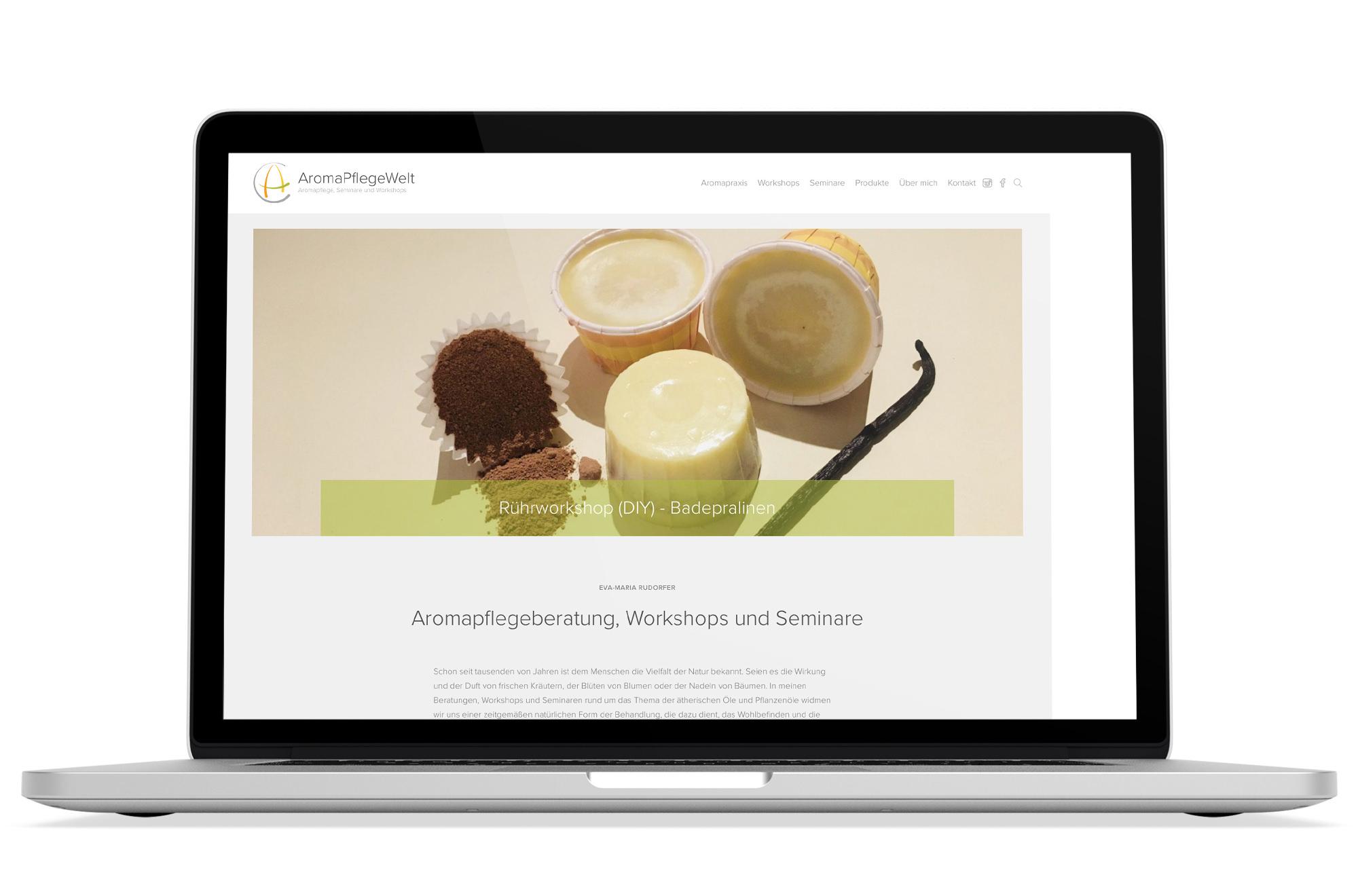 Webdesign Beispiel: Logodesign, Corporate Design, Webdesign für Gesundheit & Pflege