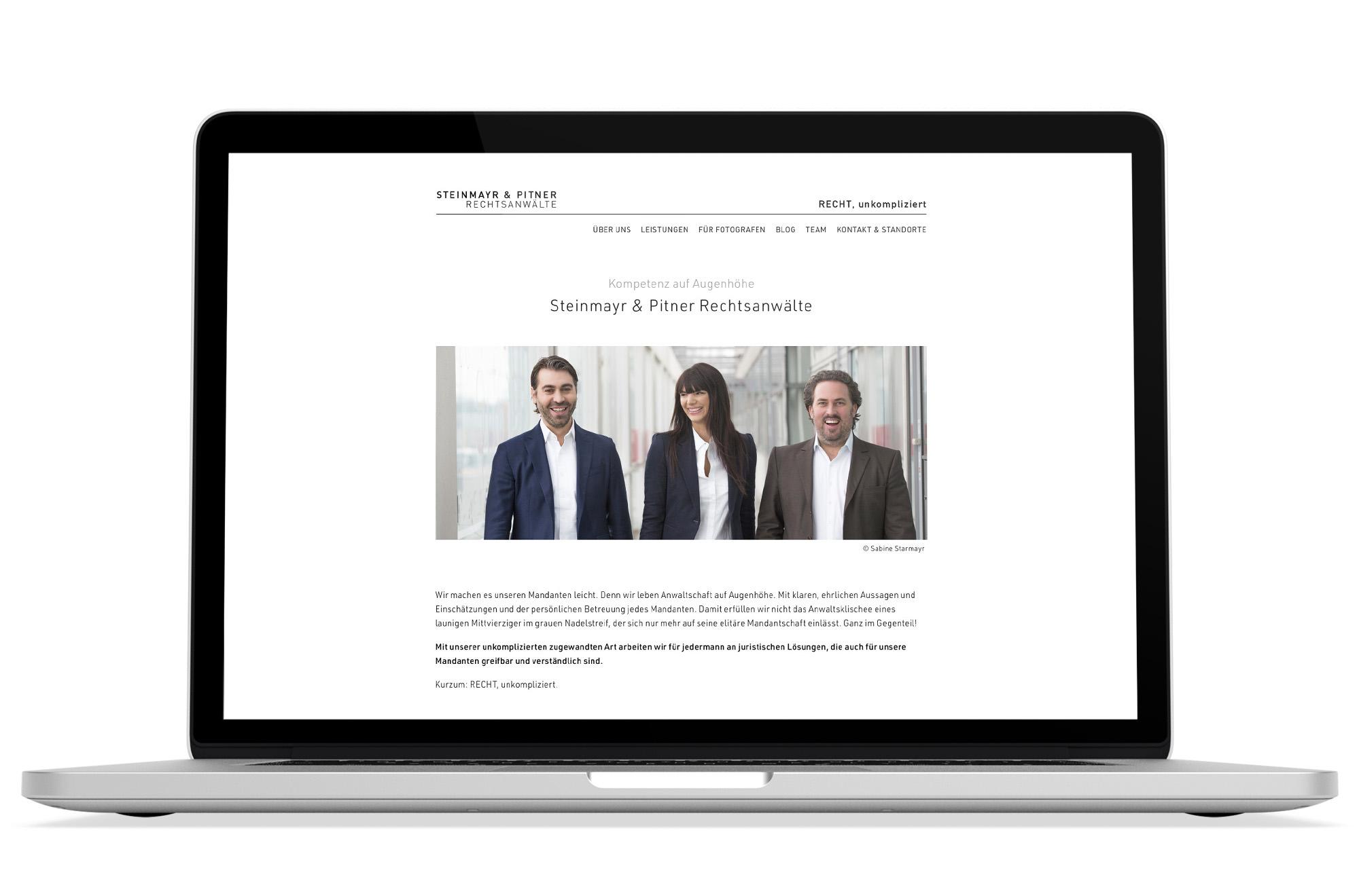 Webdesign Beispiel: Responsive Webdesign, WordPress, SEO für Rechtsanwalt/Anwaltskanzlei Wien, Oberösterreich