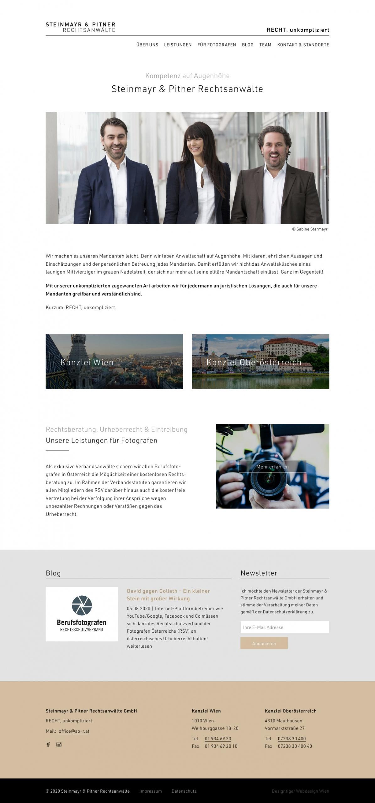 Beispiel: Responsive Webdesign, WordPress, SEO
