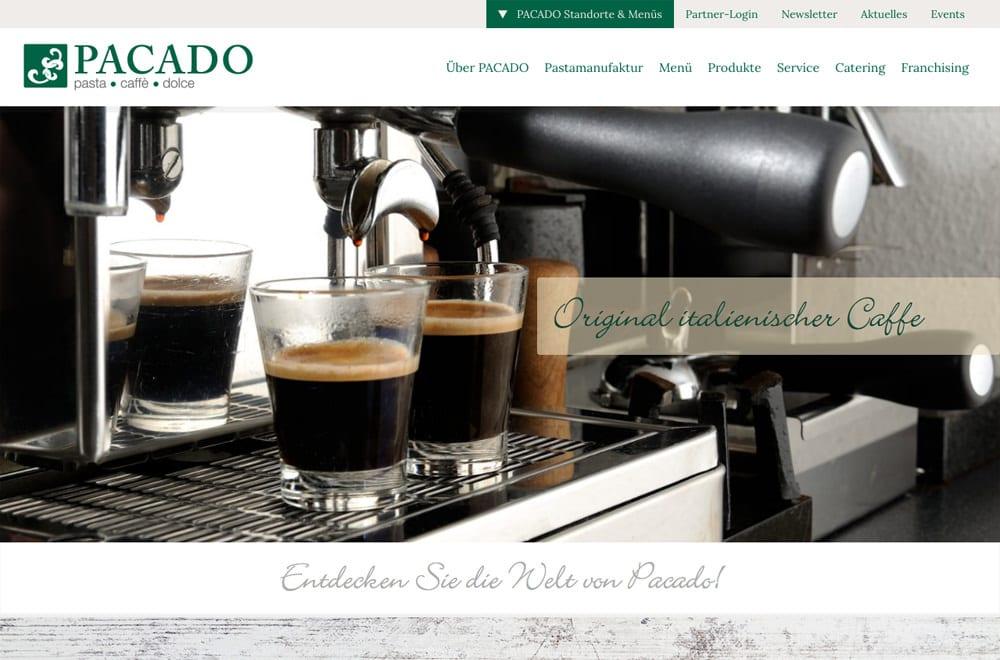 Webdesign Beispiel: Responsive Webdesign, WordPress für Shop & Restaurant