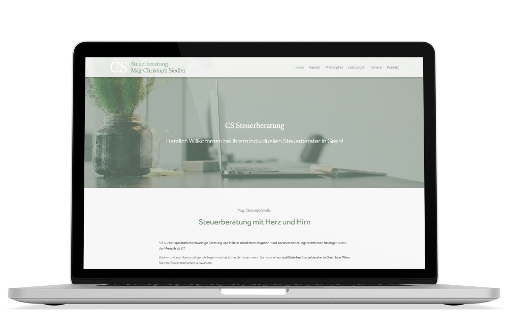 Beispiel: Responsive Webdesign, WordPress