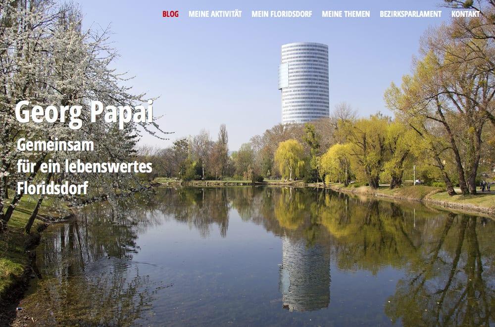 Webdesign Beispiel: Responsive Webdesign, WordPress für Persönliche Website