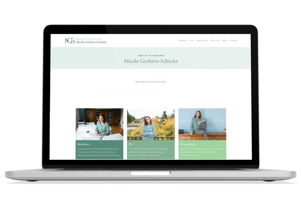 Beispiel: Logodesign, Responsive Webdesign