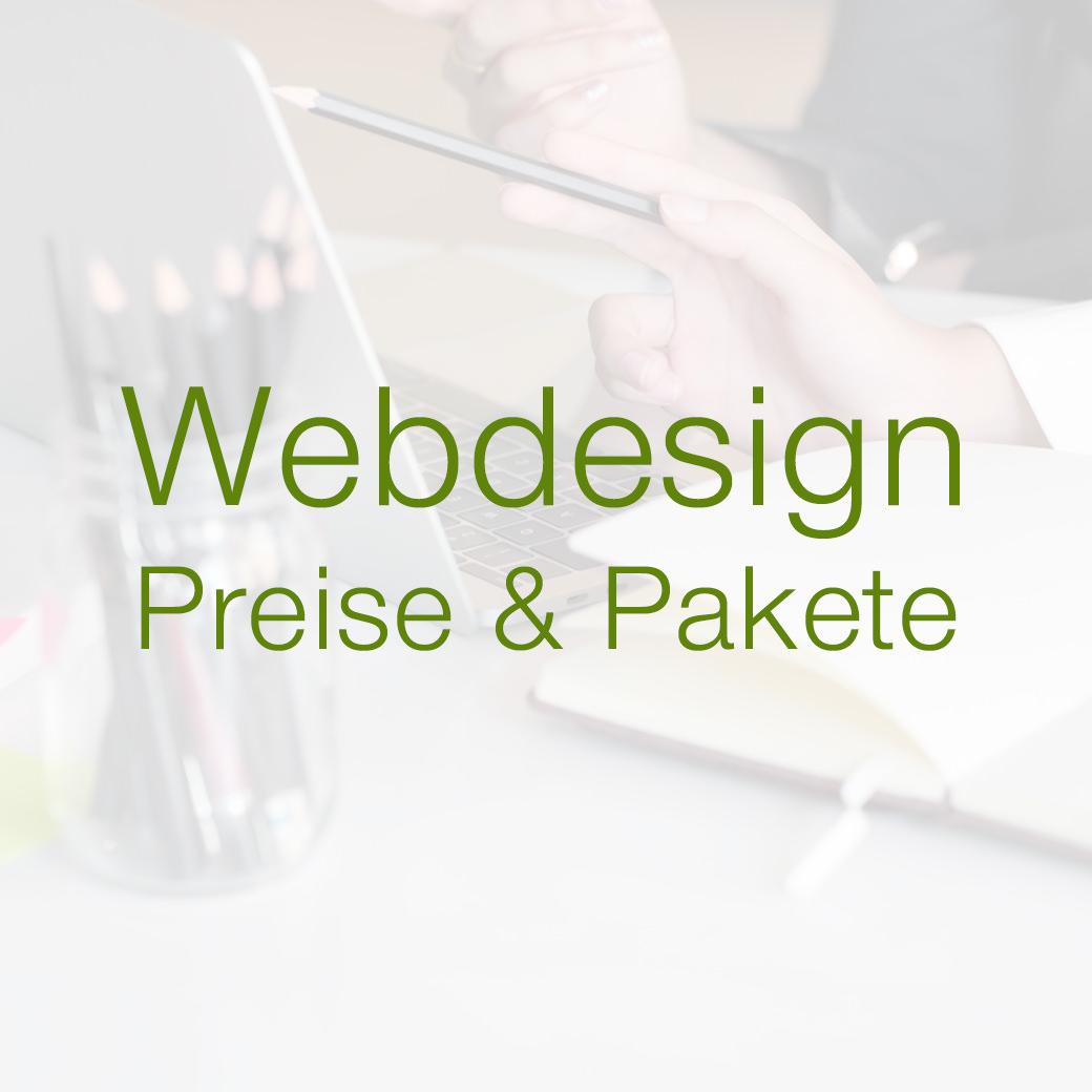 Webdesign Preise und Website Kosten
