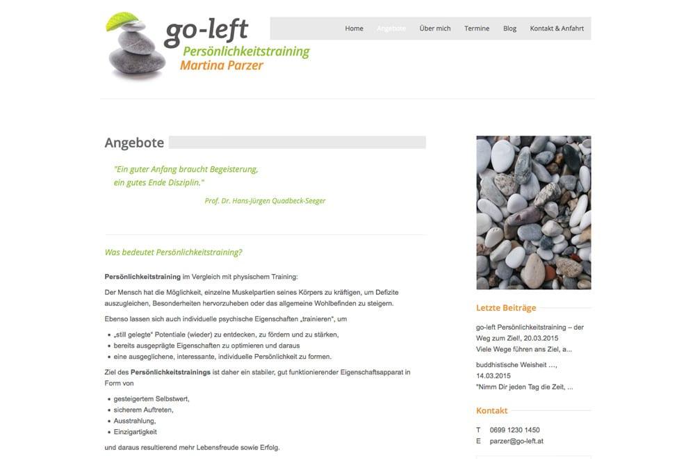 Webdesign Beispiel: Logodesign, Corporate Design, Responsive Webdesign, WordPress für Coaching, Persönlichkeitsentwicklung