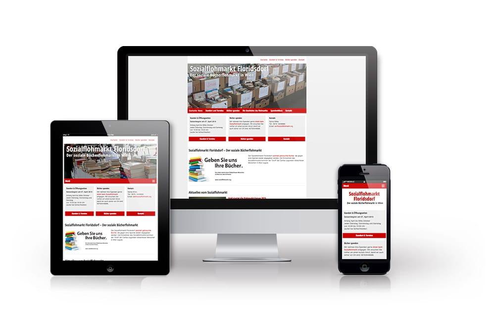 Beispiel: Mobiles Webdesign, WordPress, Suchmaschinenoptimierung (SEO)